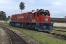 Une nouvelle locomotive pour Sitarail.