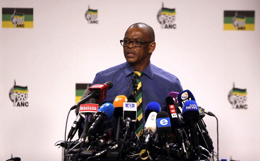 Age Magashule, secrétaire général de l'ANC.
