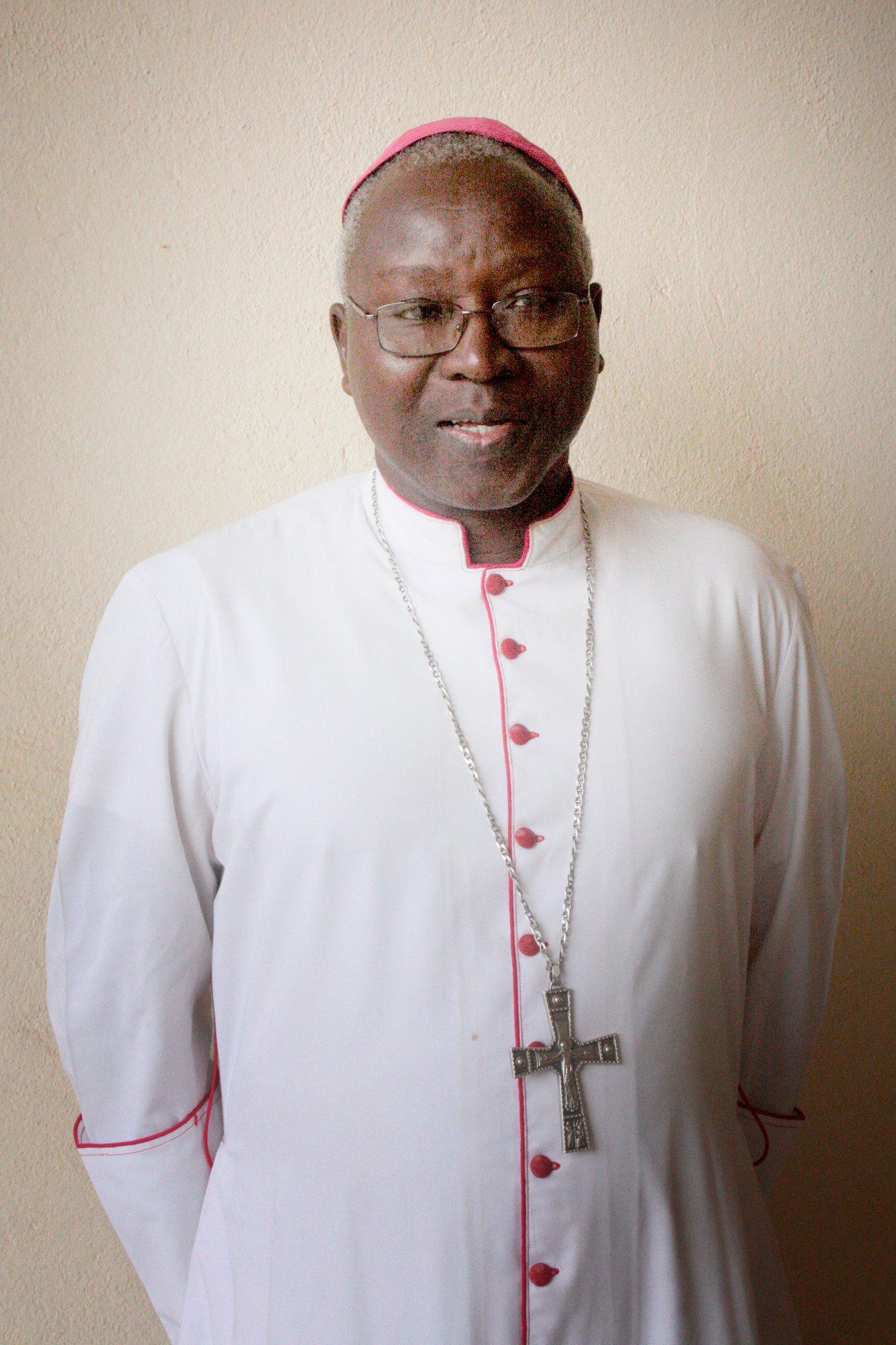 Philippe Ouédraogo, archevèque de Ouagadougou.