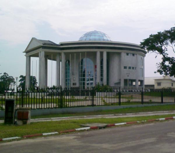 Le mémorial Pierre-Savorgnan-de-Brazza, inauguré en 2006 à Brazzaville