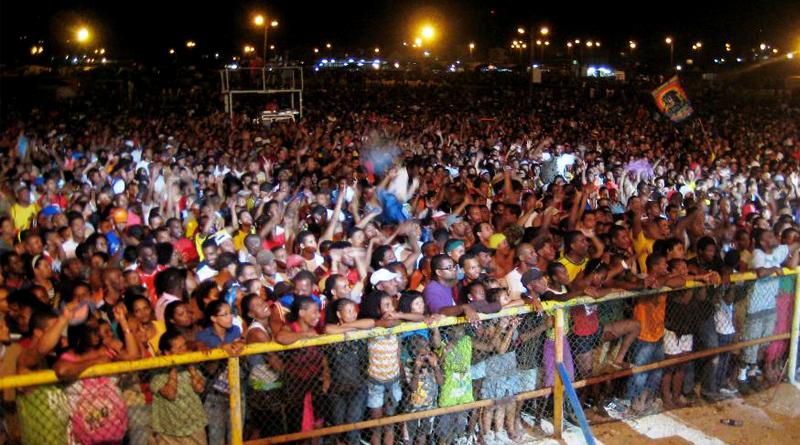Le festival de Baía das Gatas, au Cap Vert, en 2019.