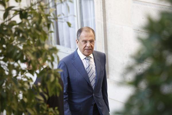 Serguei Lavrov, ministre des Affaires étrangères de Russie