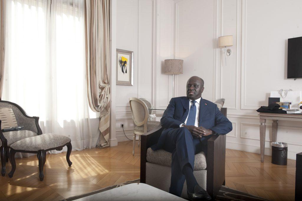 Marcel Amon Tanoh, à Paris le 4 juillet 2019.