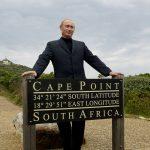 Vladimir Poutine lors de sa première visite en Afrique du Sud, en septembre 2006.