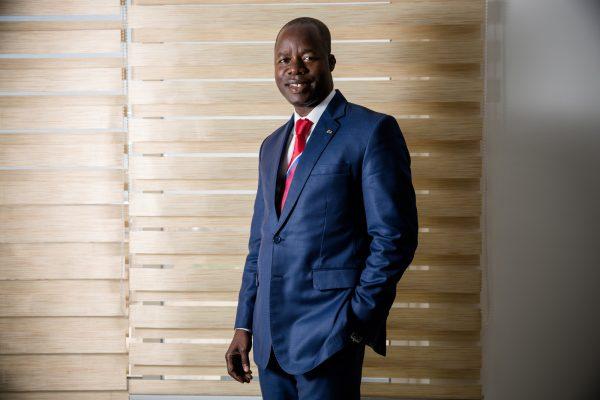Idrissa Nassa, président directeur général de Coris Bank.