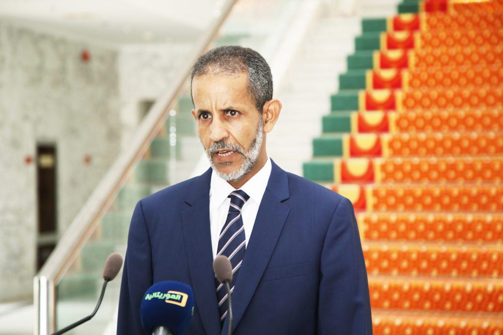 Ismaïl Ould Bedda Ould Cheikh Sidiya, le Premier ministre mauritanien.