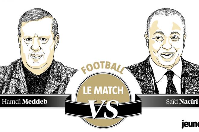 Finale de la Ligue des champions africaine : l'autre match entre Hamdi Meddeb et Saïd Naciri