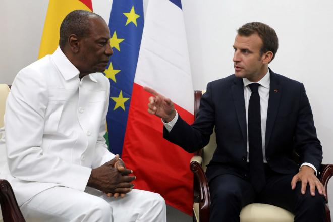 [Tribune] Pourquoi Emmanuel Macron doit dire stop à Alpha Condé