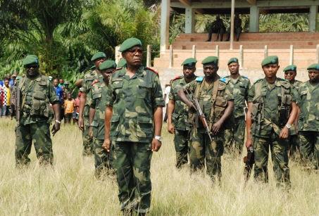Le général Didier Etumba, en septembre 2010