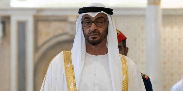 Le prince héritier des Emirats arabes unis, Mohammed Ben Zayed, le 24 août 2019 à Abou Dhabi (image d'illustration).