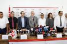 Les membres de la commission électorales à Tunis, le 14 août 2019