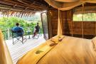 Le camp de Lango compte six chambres d'hôtes.