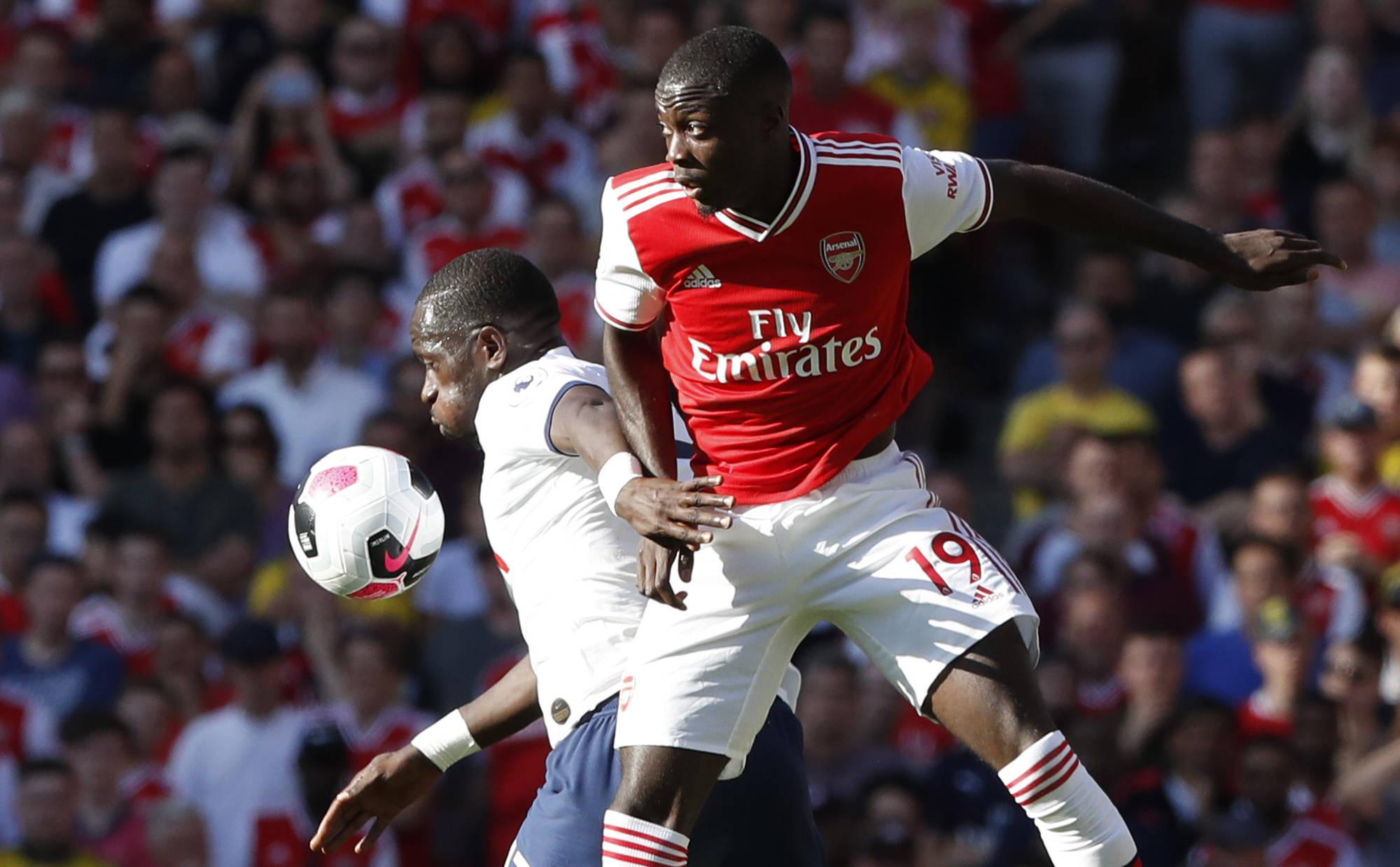 Nicolas Pépé, l'attaquant ivoirien s'est engagé en faveur des Gunners pour près de 80 millions d'euros.