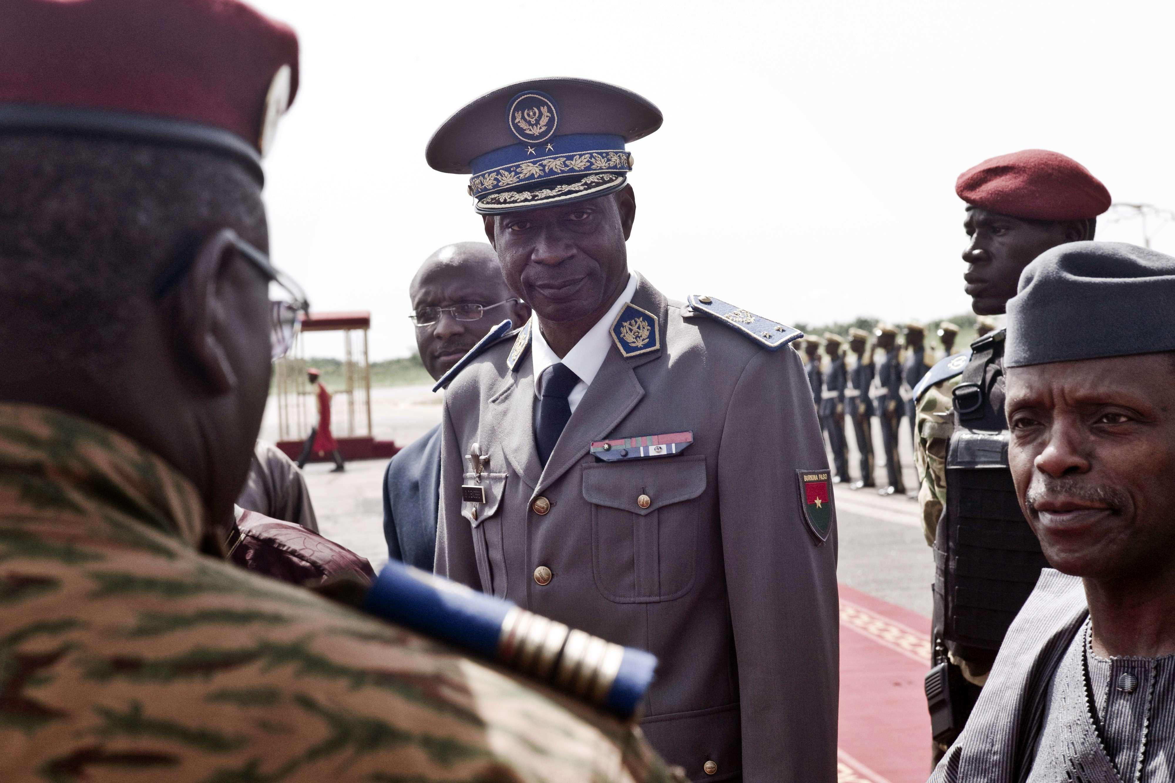 Gilbert Diendéré, le 23 septembre 2015 à Ouagadougou.