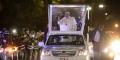L'arrivée du Pape François à Maputo, le 4 septembre 2019