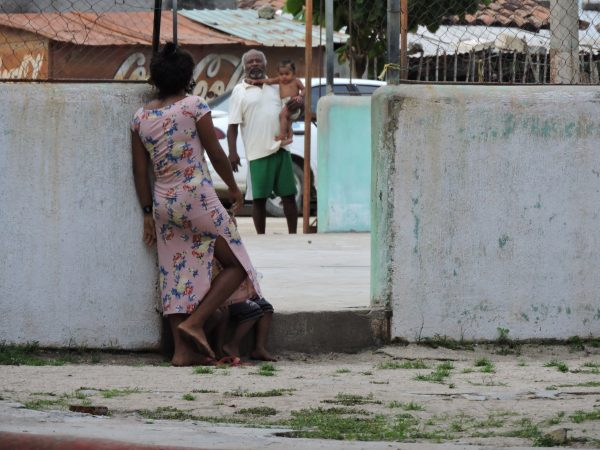 Des habitants du village de Corralero.