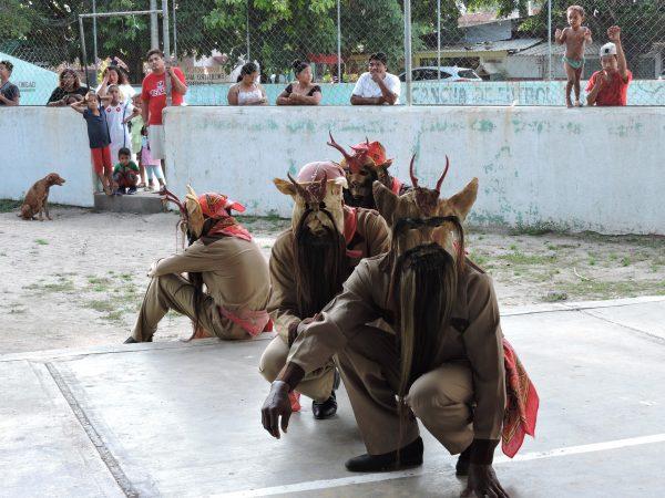 La danse du diable fait partie du patrimoine culturel des populations Afro-descendantes du Mexique.