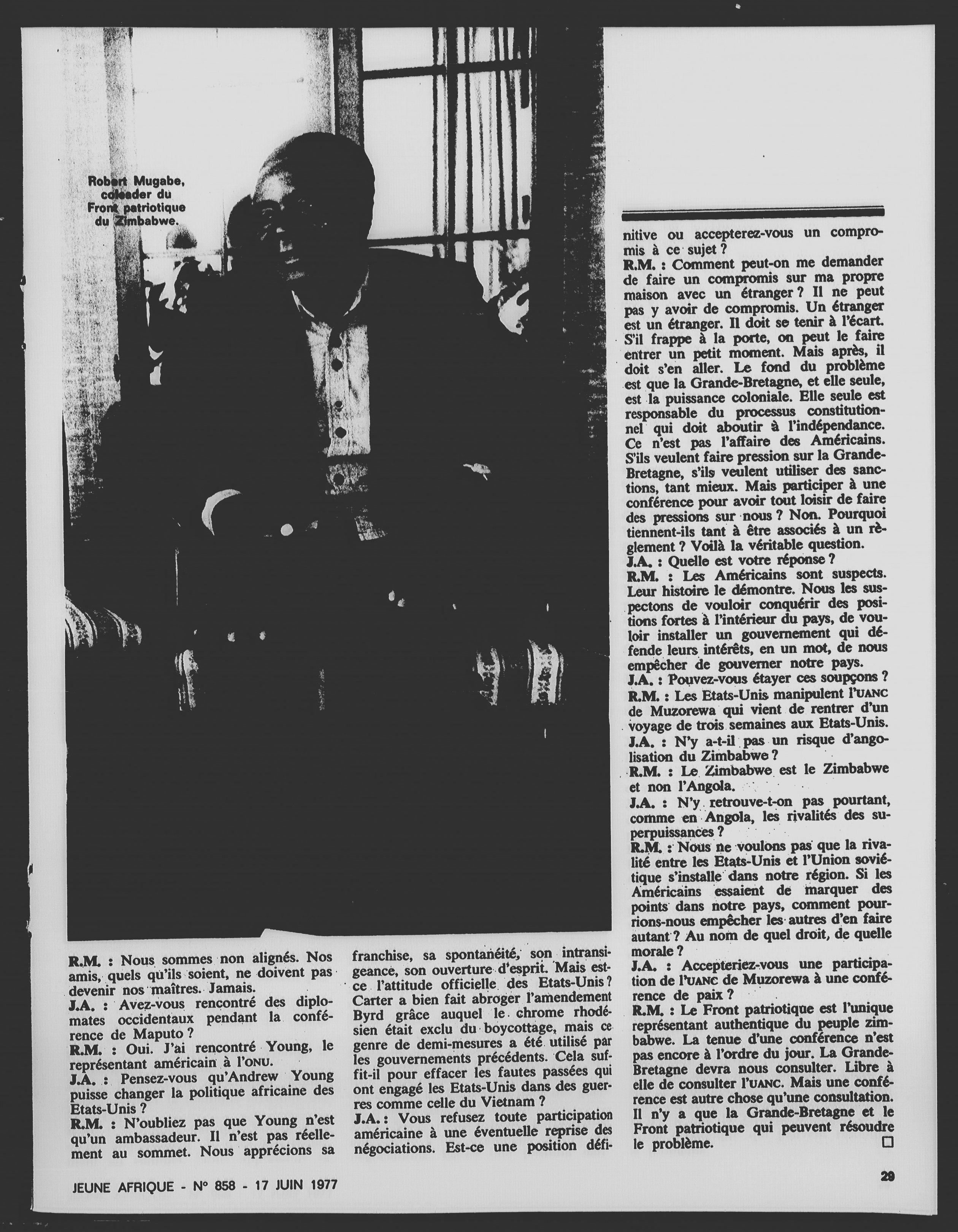 Article daté du 30 avril 1980