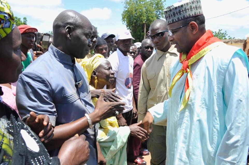 Le Premier ministre malien Boubou Cissé à Kati, le 1er septembre 2019.