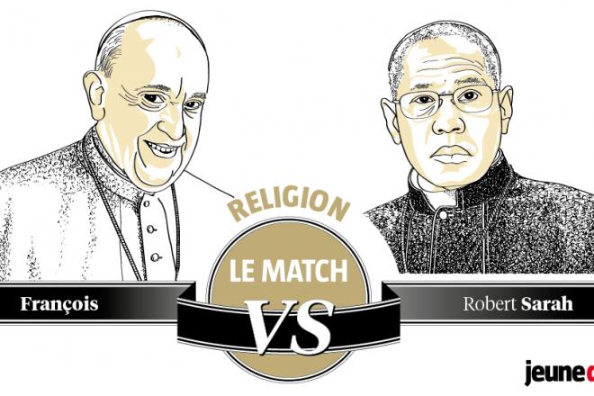 Le pape François et le Cardinal Sarah, deux visions de l'Église