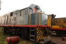 Le train impliqué dans un déraillement meurtrier en RDC, en 2007 (archive / Illustration).