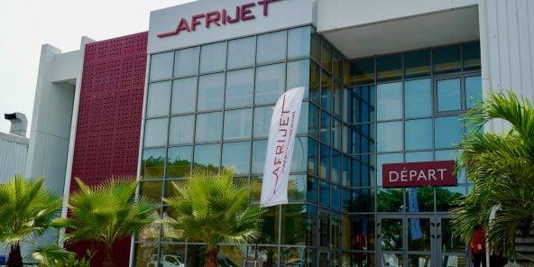 Le terminal d'Afrijet à Libreville. L'opérateur gabonais propose des vols à la demande aux grandes entreprises pétrolières.