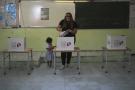Dans un bureau de vote lors de la présidentielle en Tunisie, le dimanche 15 septembre 2019.