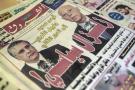 «Séisme politique», titrait lundi 16 septembre 2019 le quotidien arabophone Al Chourouk, au lendemain du premier tour de la présidentielle qui a vu les candidats Kaïs Saïed (à droite) et Nabil Karoui arriver en tête.