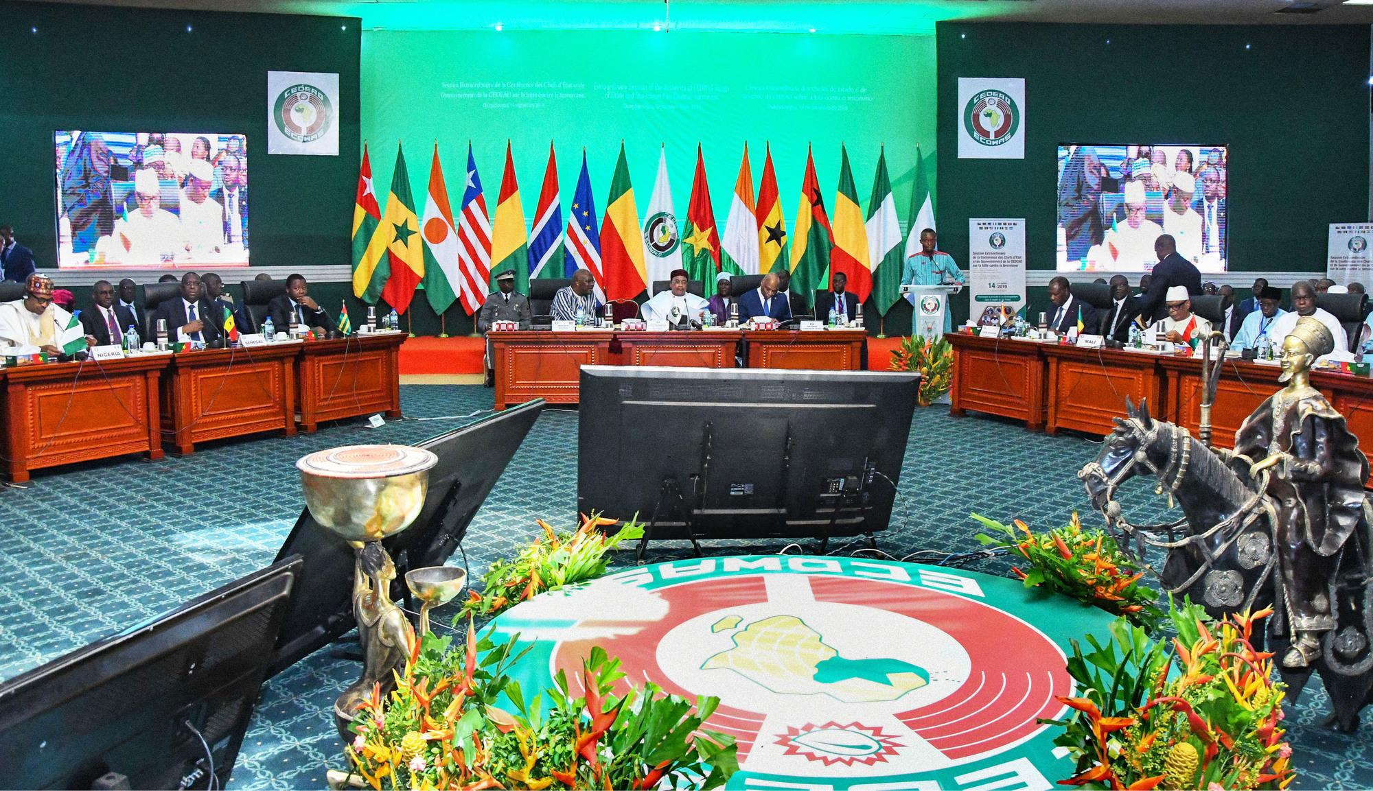 Le 14septembre, les quinze membres de la Cedeao sont convenus d'un plan d'action de 1milliard de dollars pour lutter contre le jihadisme.