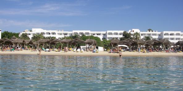 L'hôtel Les Orangers, à Hammamet en Tunisie