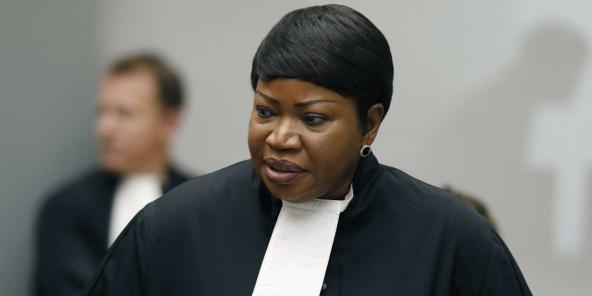 Fatou Bensouda à la Cour pénale internationale (CPI), le 28 août 2018.