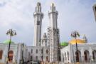 La mosquée Massalikoul Djinane vue de l'extérieur.