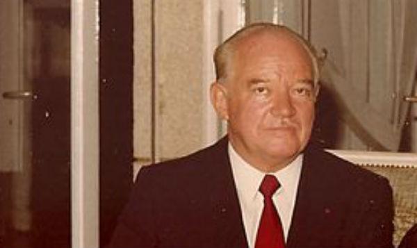 Fernand Wibeaux, à Dakar en 1980.