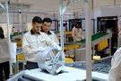 L'usine de jantes du chinois Citic Dicastal, dans la zone franche de Kenitra, le 27juin.