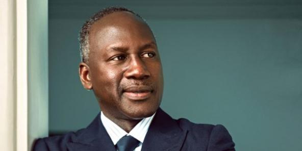 Adama Bictogo dans son bureau, à Abidjan, le 12septembre.