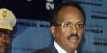 Le président somalienMohamed Abdullahi Mohamed, le 22 février 2017.