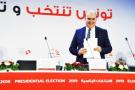 Nabil Baffoun, le président de l'Instance supérieure indépendante pour les élections, le 17septembre, à Tunis.