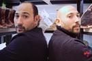 Slim et Karim Loumi, fondateurs de la boucherie Les Jumeaux aux Lilas, en banlieue parisienne.