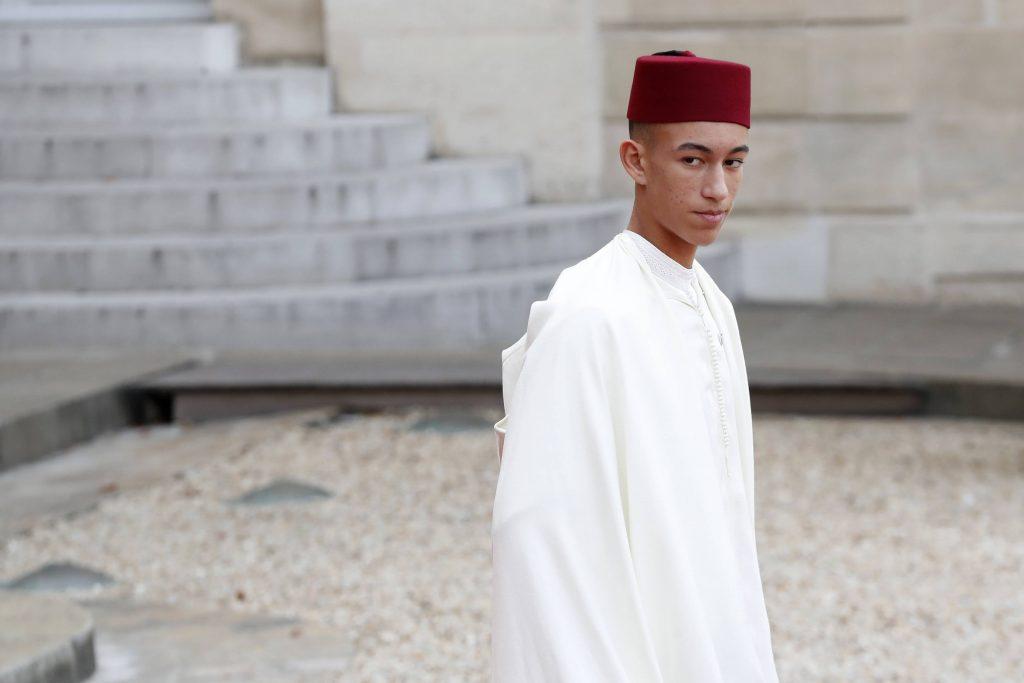 Le prince Moulay El Hassan, à l'Élysée le 30 septembre 2019 à l'occasion de l'hommage à l'ancien président français Jacques Chirac.