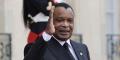 Le président congolais Denis Sassou Nguesso, à l'Élysée le 30 septembre 2019.