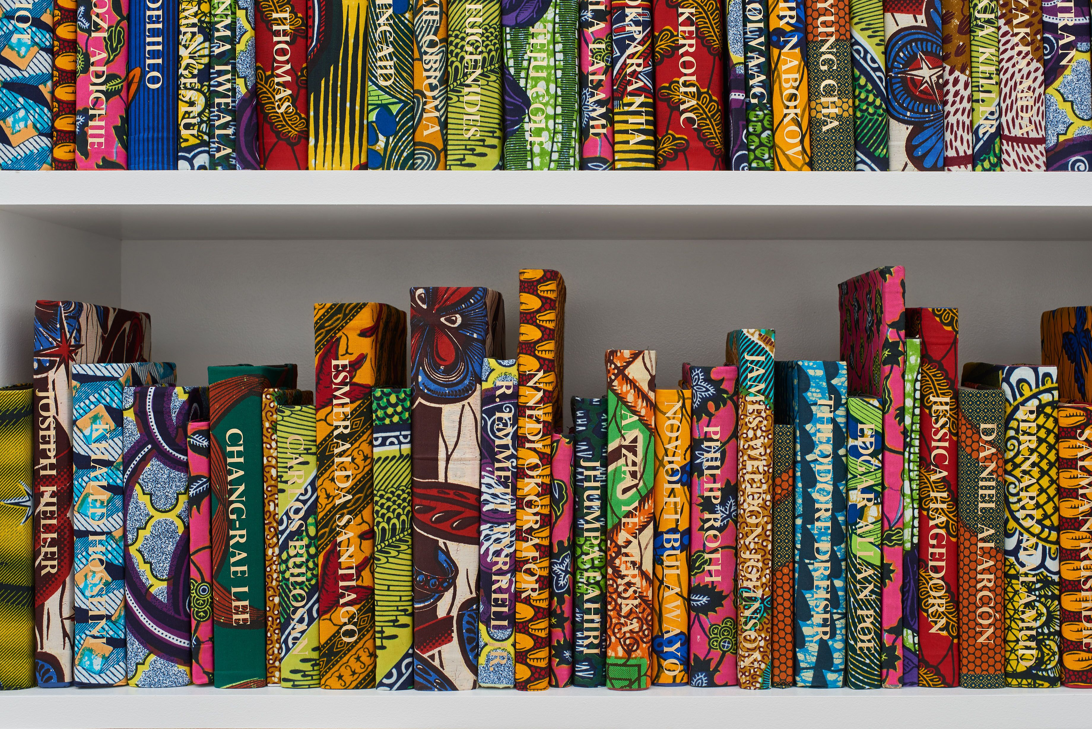 The American Library Collection - Yinka Shonibare
