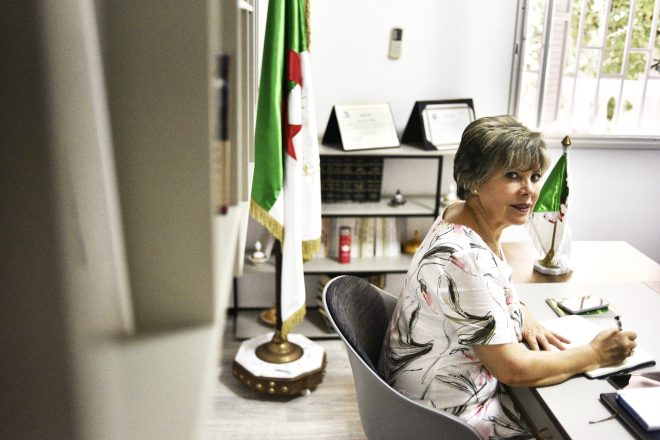 """Algérie - Zoubida Assoul: """"Bouteflika est parti, mais sa feuille de route est toujours appliquée"""""""