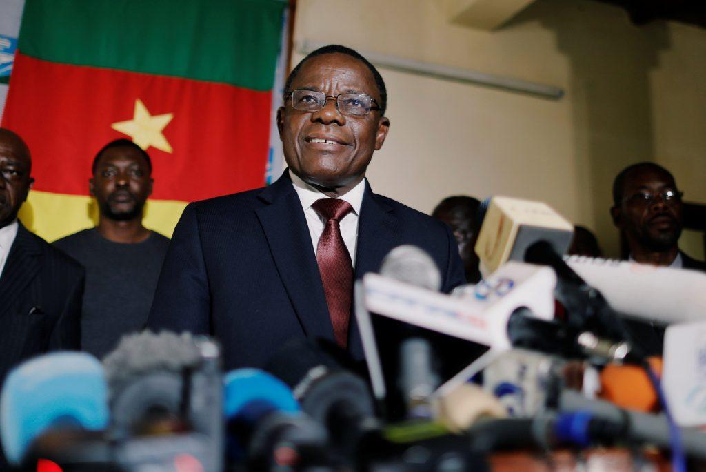 Maurice Kamto, en octobre 2018 à Yaoundé (archives).