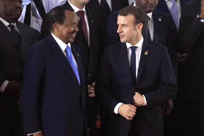 """Massacre au Cameroun : Emmanuel Macron dénonce """"des violations des droits de l'Homme"""""""