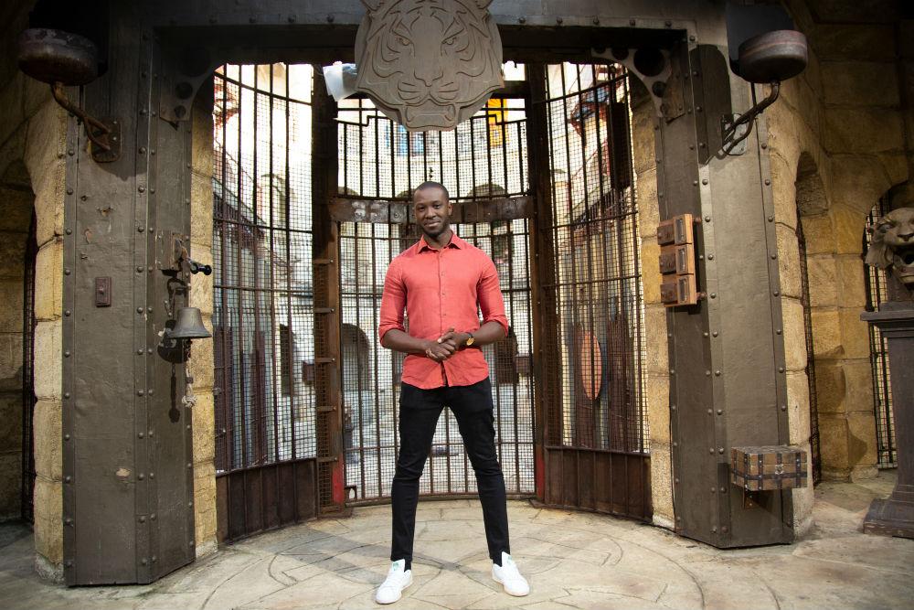 Le présentateur du Fort africain, Haussman Vwanderday.