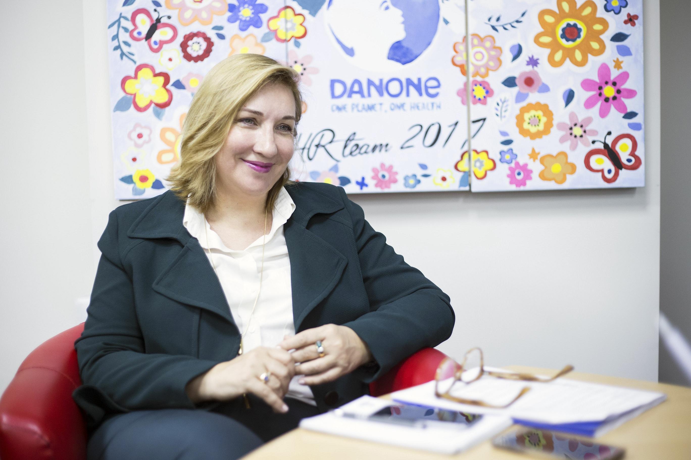 Nathalie Alquier, nouvelle PDG de la Centrale laitière, filiale marocaine de Danone