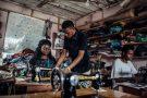 Au Nigeria, dans l'atelier d'un tailleur aidé par l'organisme Bayelsa state Microfinance and Enterprise Development Agency. (Photo d'illustration)