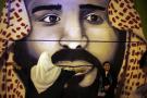 Un graffiti montrant le prince héritier saoudien Mohamed Ben Salman, dans les rues de Riyad (image d'illustration).