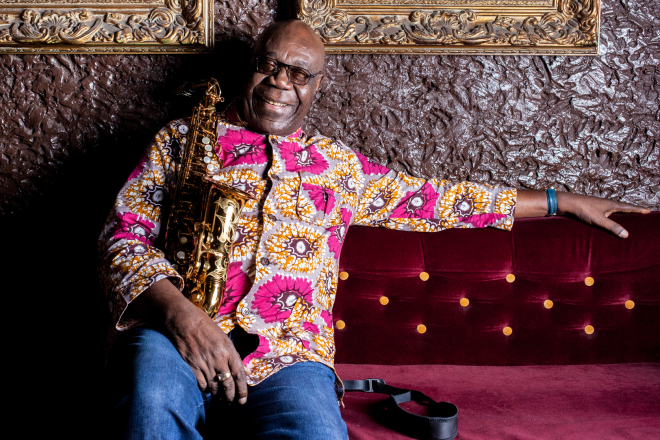 Manu Dibango, une légende du jazz toujours en live