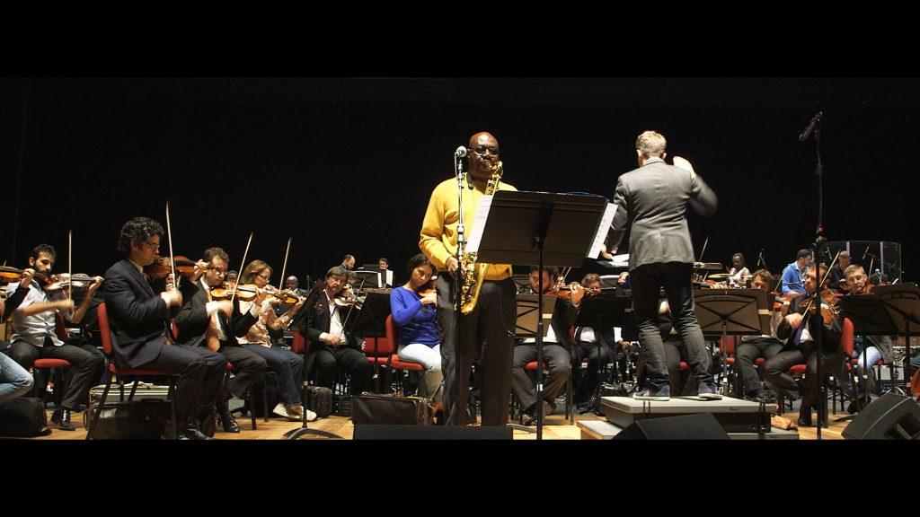 Avec un orchestre symphonique, déjà, pour les JO de Rio, en 2016.